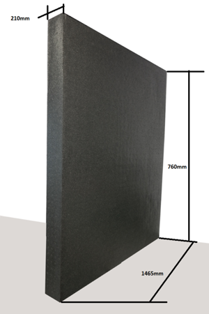 Block EPP 1460/740/210 30g/l black