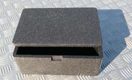 Box / First aid kit - grey
