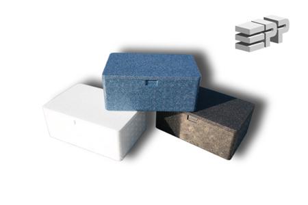 Box / First aid kit - white