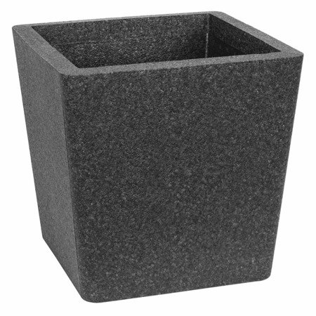 Flower pot IQBANA CONICAL 390 black