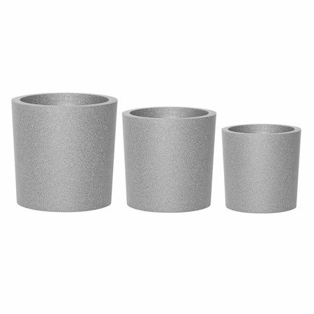 Flower pot IQBANA ROUND 480 Grey