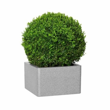 Flower pot IQBANA SQUARE 195 Grey