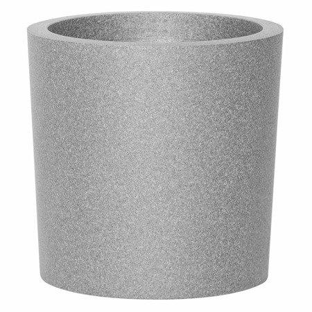 Set of 4 IQBANA ROUND pots - Grey - 480/390/320/250