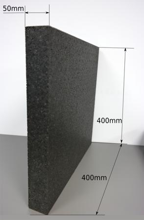 Block EPP 400/400/50 150g/l schwarz