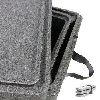 Box 2 in 1 Wärmeschutzbehälter 455/355/261