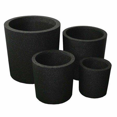 Zestaw 4 donic IQBANA ROUND czarny - 480/390/320/250